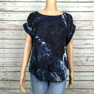 Urban Outfitters Silence & Noise Marbled Shirt